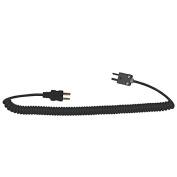 Digi-Sense Type-J, Coiled Ext Cable, Male Mini Conn To Male Mini Conn, 1.5m L