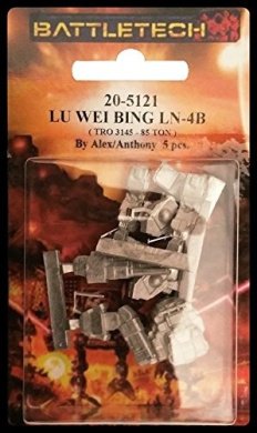 BATTLETECH 20-5121 LU WEI BING LN-4B