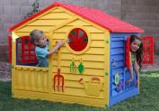 PALPLAY Dream House Benetone Model Playhouse