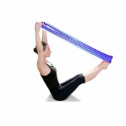Lookatool® Pilates Yoga Workout Aerobics Stretch Band Tensile Band Elastic Band