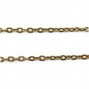 Qty:110PCS Antique Bronze Jewellery Making Charms Findings Supplies Craft Ancient Repair Lots DIY Antique Pendant Vintage Z7B81230 Chain 3mm