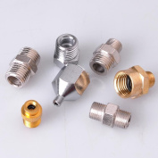 AW 7x Adaptor Kit Connector Set For Compressor Airbrush Air Hose Fitting Tattoo Nail Makeup Art