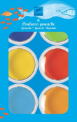 Djeco Paint Palette - 6 Giant Colours
