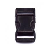 100pcs 1cm Straight Side Release Buckles for Paracord Bracelets Black