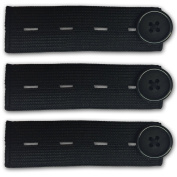 3-pack Elastic Waist Extender for All Your Pants and Jeans