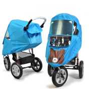 Universal Baby Weather Shield Baby Stroller Canopy Waterproof Rain Cover