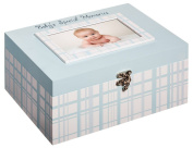Blue Everyday Wooden Memory Box