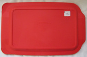 Pyrex Red Plastic Lid for 3.8l Oblong Baking Dish