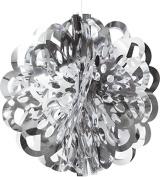 Creative Converting Die-Cut Foil Ball, 41cm , Silver