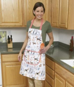 Home-X® Dog Print Apron