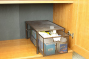 DecoBros Mesh Cabinet Basket Organiser