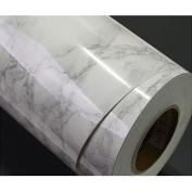 Grey Granite Look Marble Effect Contact Paper Film Vinyl Self Adhesive Peel-stick Counter Top