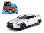 "Brian's fits Nissan GT-R R35 Silver ""Fast & Furious"" Movie 1/32 by Jada 97383"