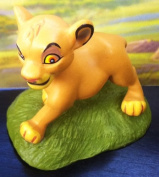 5.1cm Disney Lion King Baby Simba Figure Cake Topper Party Favour Doll Toy, Style May Differ