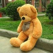 VERCART 55 inches Brown 140CM Giant Huge Cuddly Stuffed Animals Plush Teddy Bear Toy Doll