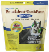 Ark Naturals CHEWABLE BRUSHLESS TOOTHPASTE FOR SM-MED PETS