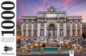 Trevi Fountain, Italy 1000 Piece Jigsaw