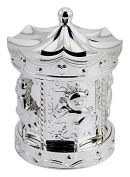 Lesser and Pavey - Little Treats Silver Plated Carousel Money Box