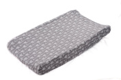 Danha Grey Arrow Changing Pad Cover