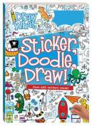 Sticker, Doodle, Draw! Blue - Rework