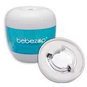 BebeZap Baby Portable UV Steriliser for Bottle, Soother, Teat - Kills 99.9% of germs, bacteria - Blue/White