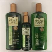 Thicker Fuller Hair Kit - SHAMPOO 355ml + CONDITIONER 355ml + SERUM 148ml