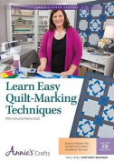 Learn Easy Quilt-Marking Techniques Class DVD