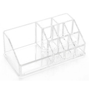Pusheng Clear Acrylic Lipstick Holder Display Stand Cosmetic Organiser Makeup Case
