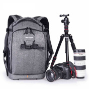 New Dawn Unisex SLR Camera Backpack Canon 5D3 Nikon D7000 Casual Daypack School Backpack Travel Backpack ND806