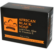 Nubian Heritage African Black Soap With Shea Butter Oats and Aloe Deep Cleansing 150ml
