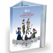 """The """"Standard Edition"""" - New Royal Mint 50p (50 PENCE) Great British Coin Hunt Collector Album/Folder now with slots up to 2017"""