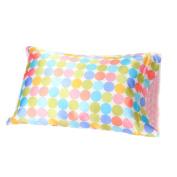 AllyZabba Standard Pillowcase Pastel-Dot Candy 20 x 29