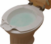Portable bidet, bidet bath, bidet tub, Plastic bidet, sitting bath - White