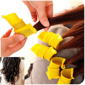 SwirlColor Curl artefact does not hurt hair curlers tools hairdressing supplies 18pcs