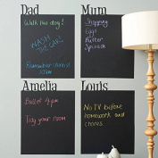 Duofire® A4 Sized Peel and Stick Blackboard Sticker Memo Removable Vinyl Chalkboard Wall Sticker 8 Sheets with Free Gifts