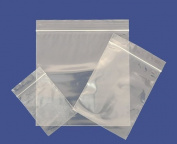 Grip Seal Bags 5.7cm x 7.6cm Strong Reusable Zip Lock