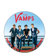 7.5 The Vamps Edible Icing Birthday Cake Topper