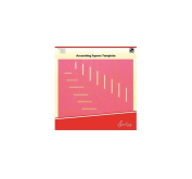 Sew Easy ERGG10.PNK | Pink Ascesending Square Template | 25cm