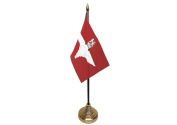 6x Parachute Regiment Hand Table or Waving Flag Party Pack - No Bases