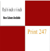50 Red 150mm X 150mm Square Bathroom/Kitchen Tile Transfer Stickers Cheap and cost effective