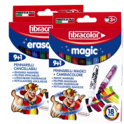 Selkin Erasable and Colour Change Magic Pens Combined Includes Extra FREE Magic White Pen