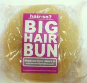 Hair-so. Massive 15cm Wide Big Hair Bun Extra Large Hair Doughnut Donut Bridal Wedding Hollywood Hair Style Bun Ring - Choose Colour- Brown, Black or Blonde