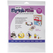 Grafix KSF6-CIJ 22cm by 28cm Shrink Film, Printable, Clear Inkjet, 6-Pack