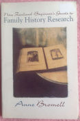New Zealand beginner's guide to family history research