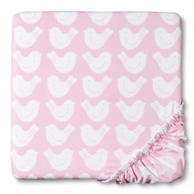 CircoTM Woven Fitted Crib Sheet - Bursts of Spring