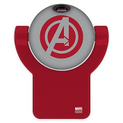 Avengers Projectables LED Projection Nightlight, Comic Book Scene, Red