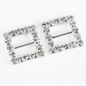 Wedding Invitation Luxurious 'Grade A' Diamante Rhinestone Ribbon Slider Buckles DIY