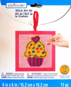 Cup Cake Stitch Art Kit