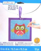 Owl Stitch Art Kit