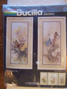 Butterfly Dance Pair Stamped Embroidery Kit